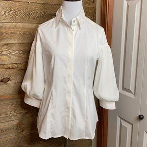 Farinaz Taghavi Italian cotton tailored shirt